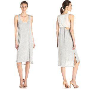 Splendid Gray Drape Back Tank Dress Size XL